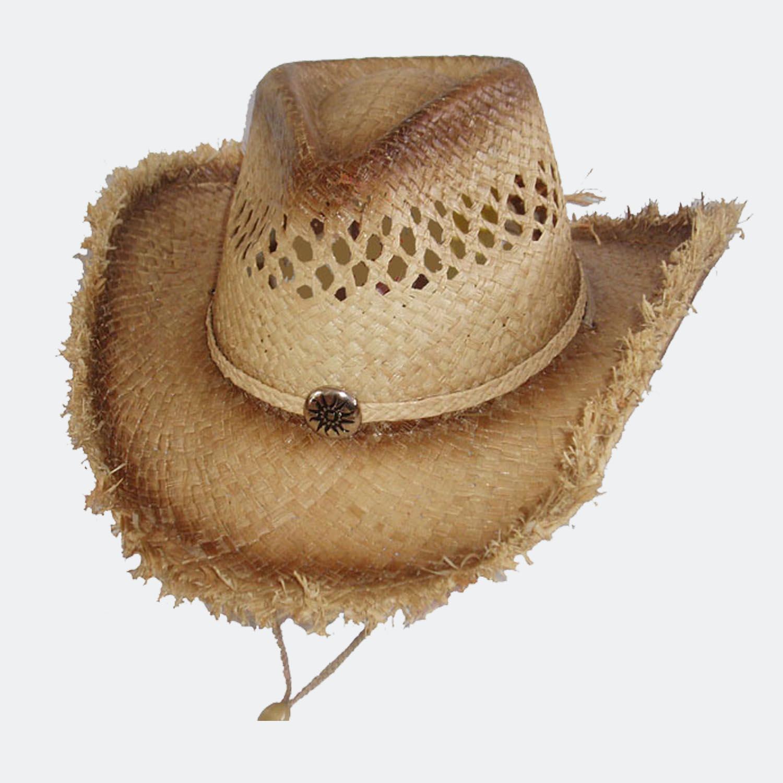 Rattan cowboy hat  c7dece1730c
