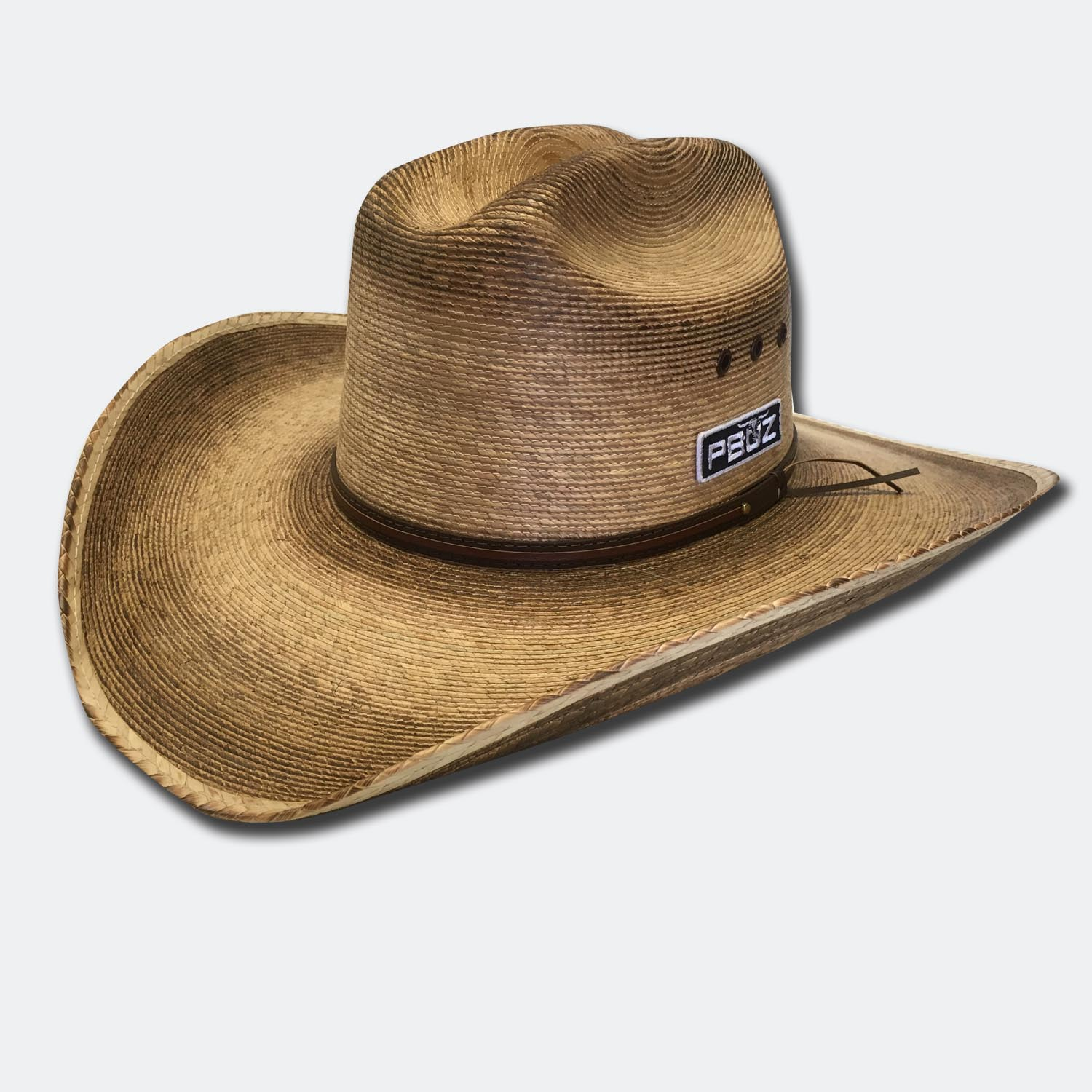 25bbf8044 Cattleman Palm Straw Cowboy Hat