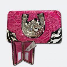 Pink Alyssa Horse purse