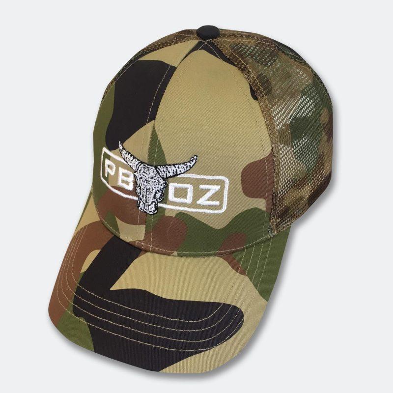 PBOZ Camo Bull Cap  b03edeccc9d