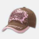 Brown Cowgirl Cap