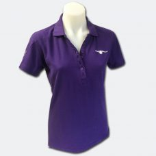 Purple Polo front