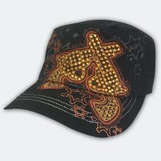 double-guns-black-cadet-cap