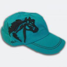 aqua-horse-cap